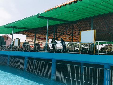 Mái Xếp Bạt Kéo Di Động Che Hồ Bơi Tại Biên Hòa Đồng Nai, Mái Che Hồ Bơi